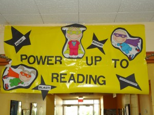 Power up to reading